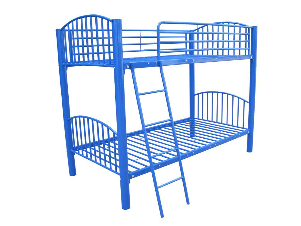 Los niños azul marco de la cama litera individual (HF081) – Los ...