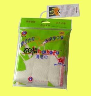 Baihefu houtachtige Fiber Cleaning Cloth Excellent Type (2 stuks/pakket)