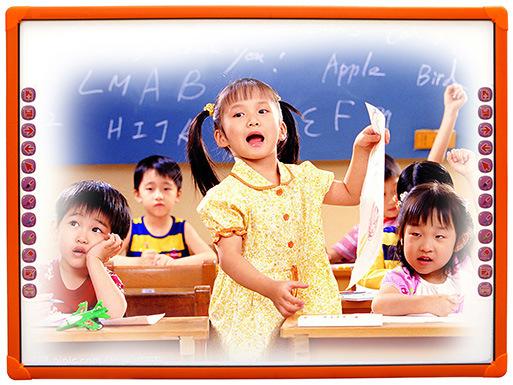 Equipamento escolar e apresentação de Negócios Electronic Io Interactive Comunicações para crianças