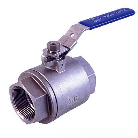Clapet à bille en acier inoxydable 316 (POY-007)