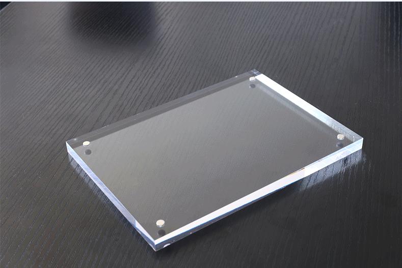 Foto de De tamaño personalizado claro acrílico 10mm el marco de ...