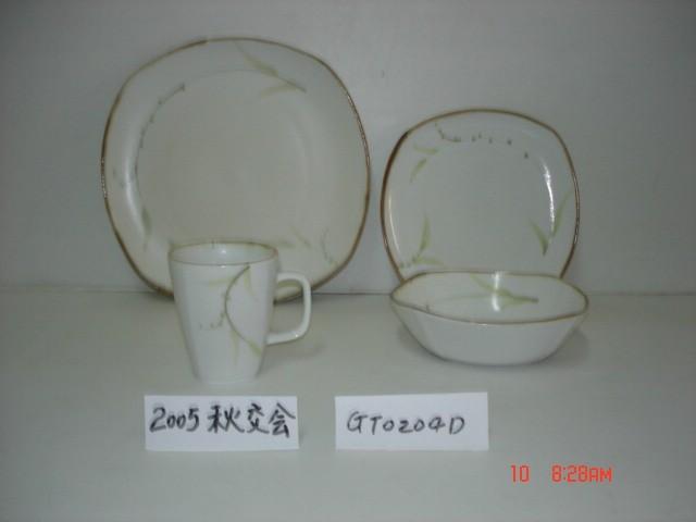 طلاء الخزف بالرسام اليدوي (GT0204D)