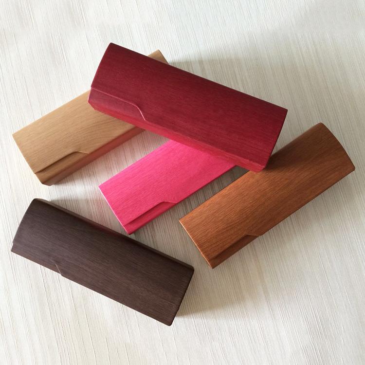 Cassa ottica di legno di vetro di lettura di caso di Eyewear del ferro di caso di Eyewear di alta qualità
