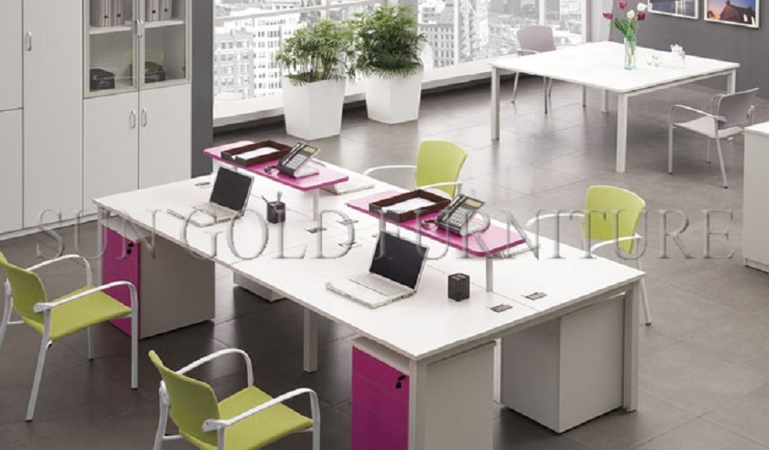Bureau dordinateur modulaire moderne pour centre dappels à vendre