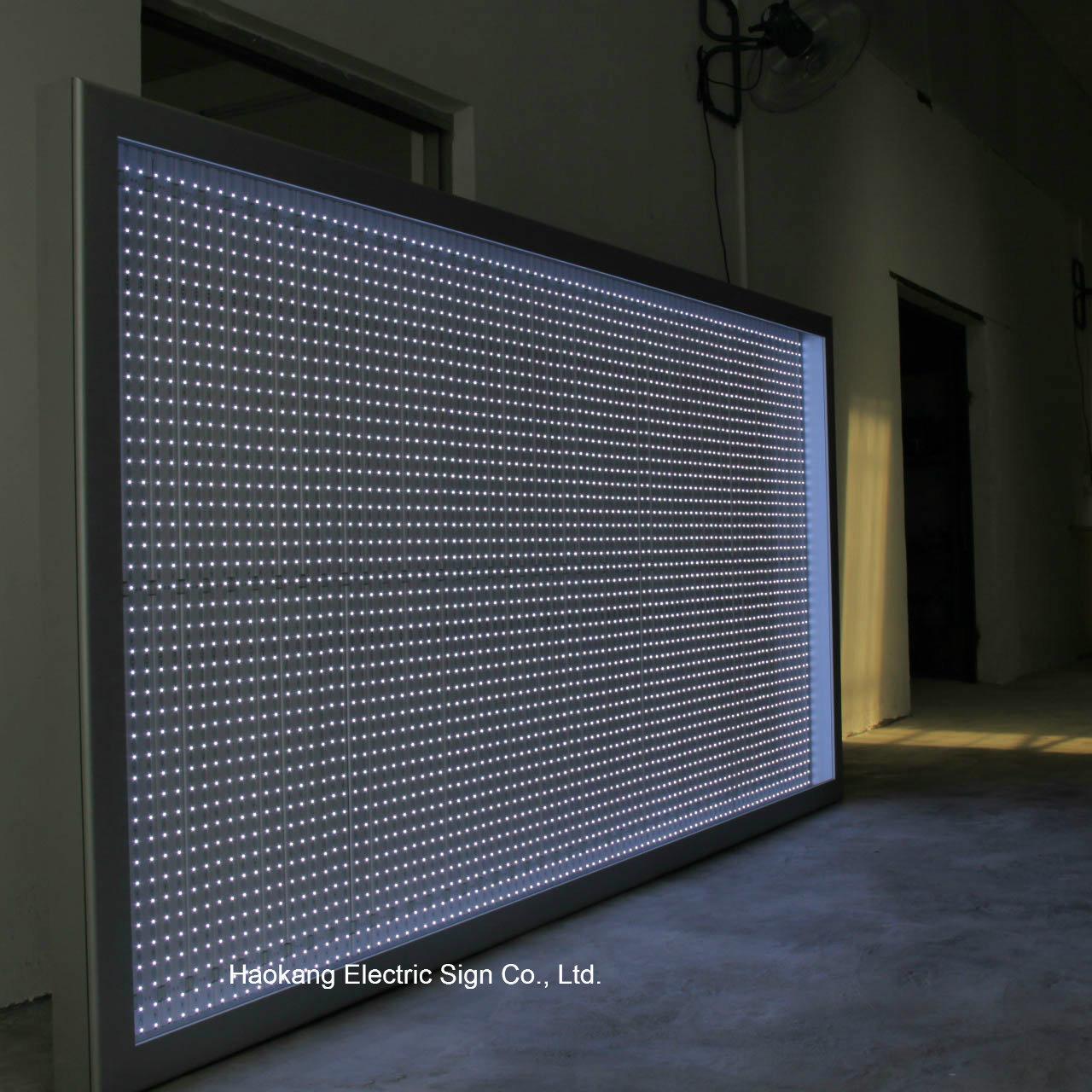 Foto de Marcos de pared LED retroiluminada de gran tamaño caja de ...