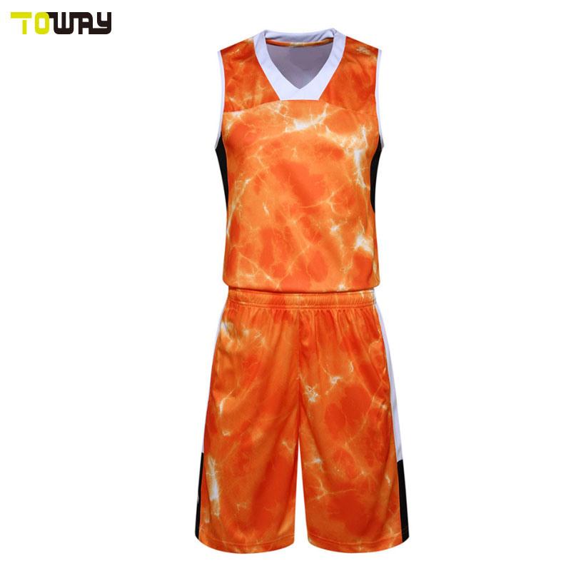 Modello Personalizzato Per Il Design Della Maglia Del New Basketball