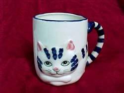 Cartoon cups - chaton tasse
