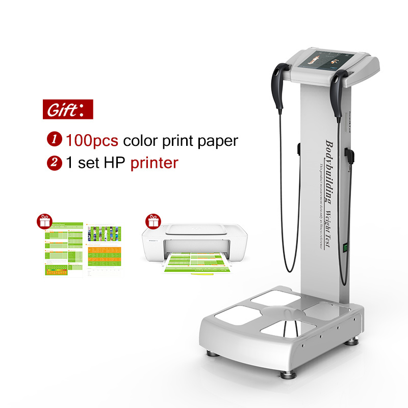 A composição corporal Analyzer Analisador de gordura IMC a máquina