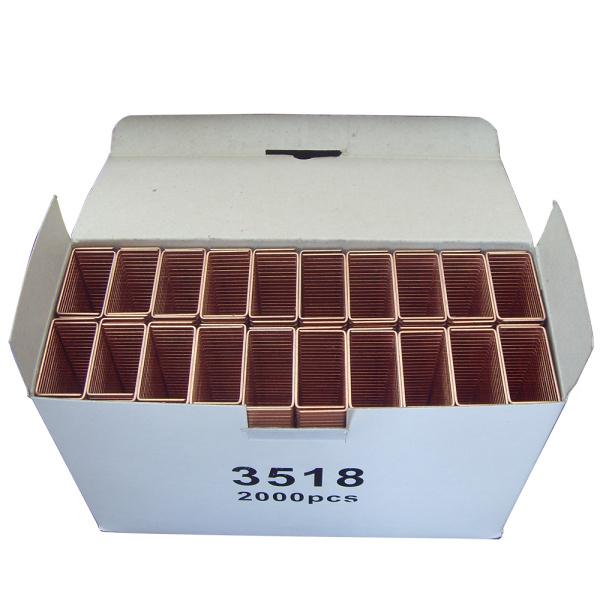 3518 Sluitende Nietjes van het Karton koper-met een laag bedektde