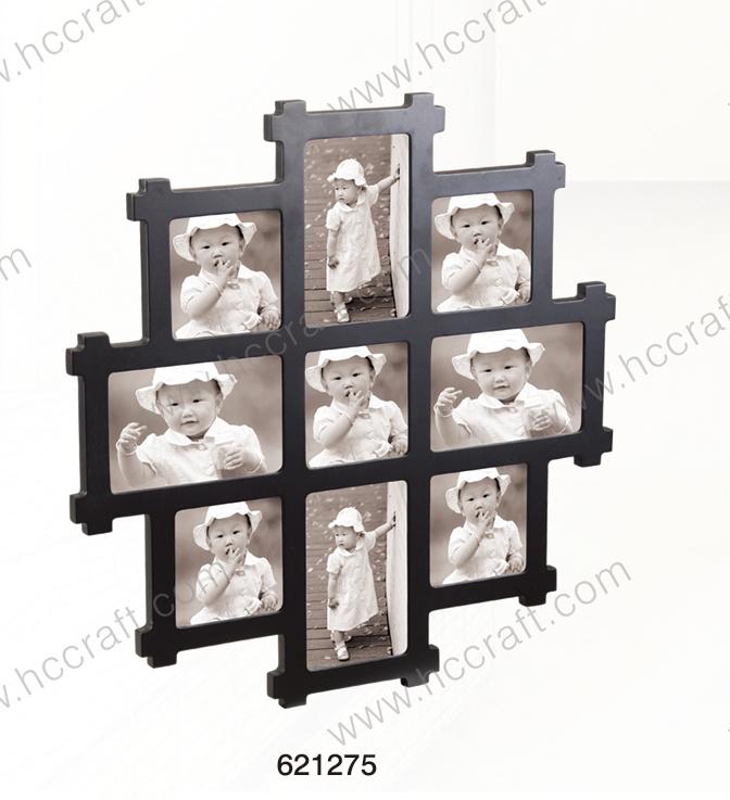 Foto de El bastidor de collage de madera para el hogar Deco en es ...