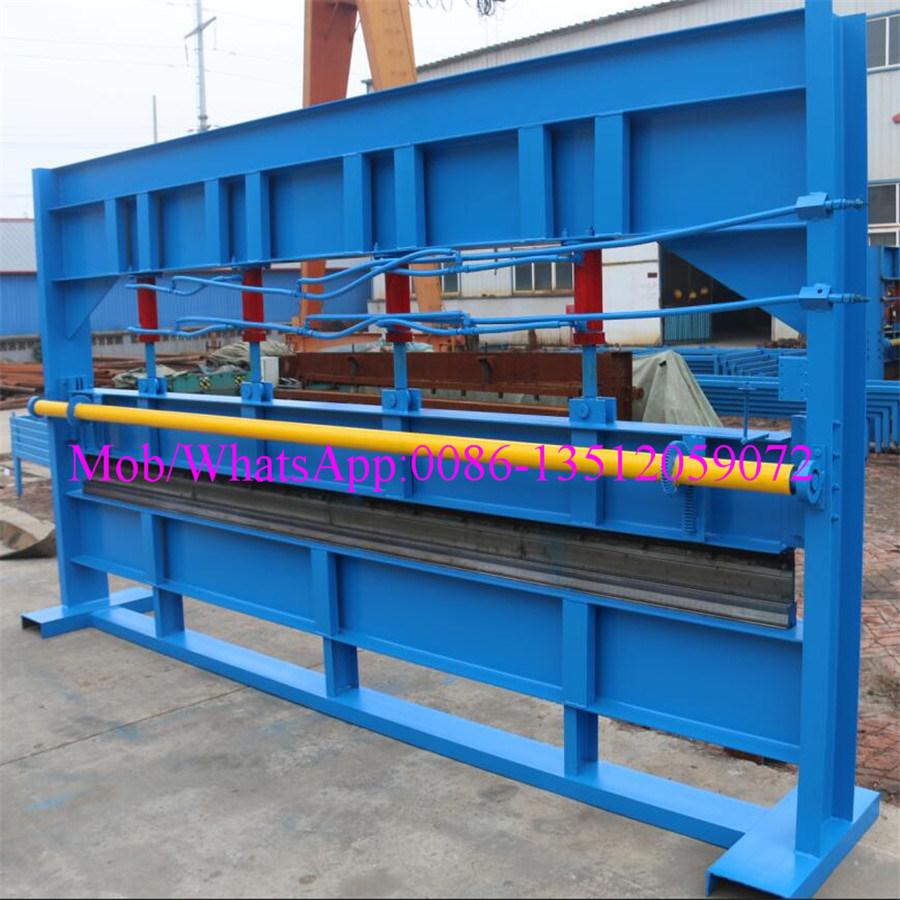 6m de rodillo máquina de doblado galvanizada