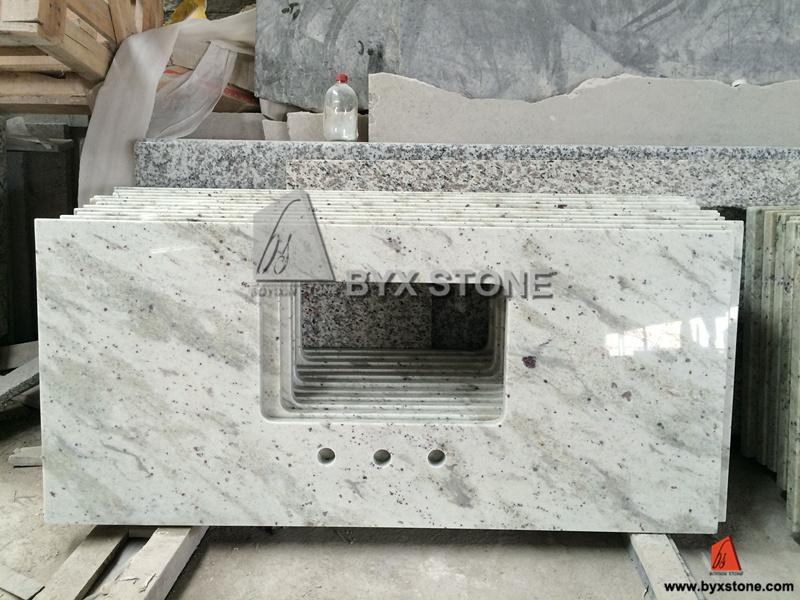 Weisser Granit andromeda weißer granit badezimmercountertop granit eitelkeits