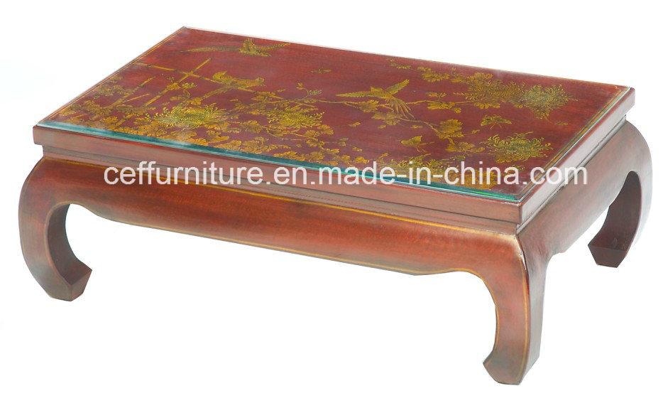 Tavolino Rosso Da Salotto.Cina Tavolino Da Salotto Antico Di Cuoio Rosso Cinese Di