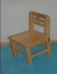 Hölzerner Kind-Stuhl (KT5108CH-W)