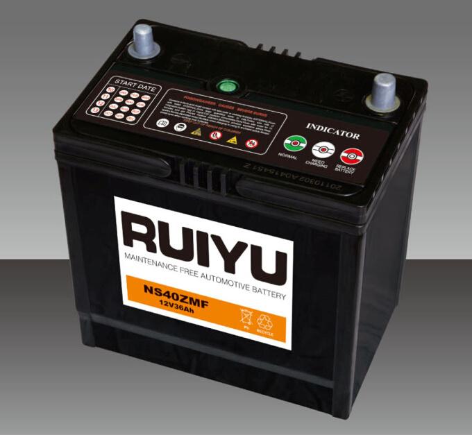 Sellado de batería de coche libre de mantenimiento de la batería /Auto