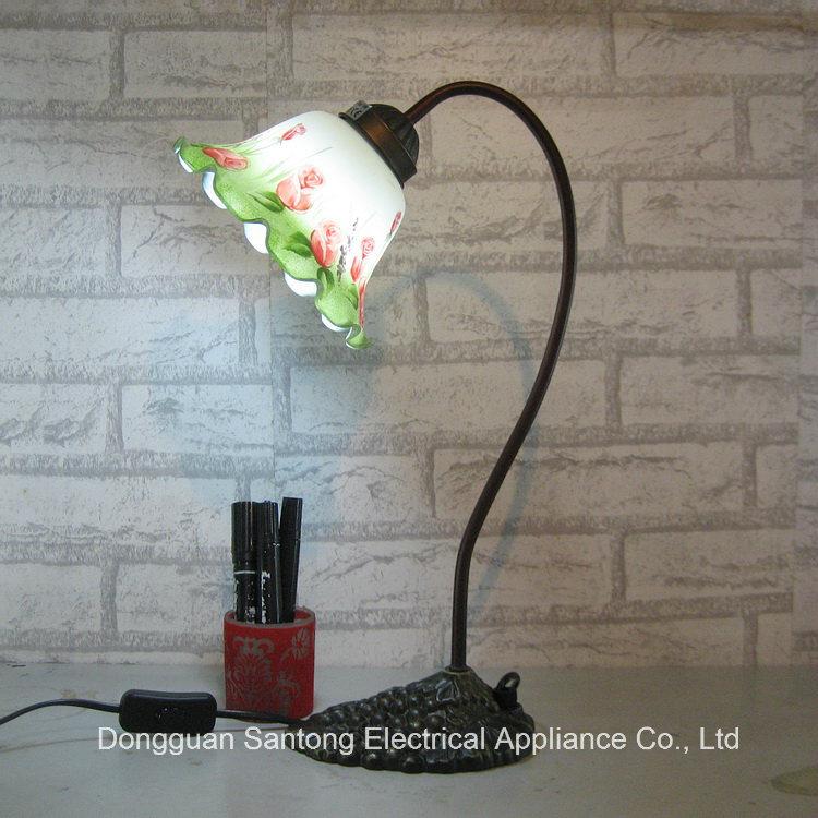 Novo Tulip Flower candeeiro de mesa moderna iluminação clara