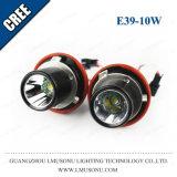 Lmusonu 10W LED Angel Eyes Headlight Original Cr Chip for BMW E39 1000lm