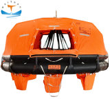 Hot Sale 12 Man Solas Approved Ec D-Type Davit-Launched Inflatable Offshore Life Raft/Liferafts