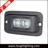"Surface Mount 3"" 10W Offroad CREE LED Work Light with Flush Mount"