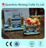 Custom Resin Souvenir Crafts London Bridge Design Building Model