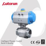 Ss Pneumatic Two-Piece Ball Valve