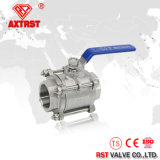 CF8 CF8m 3PC Stainless Steel Threaded 1000 Wog Ball Valve (Q11F)