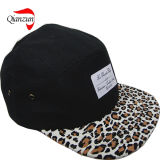 Customized Fitted Applique Logo Leather Strap Cap