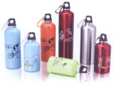 Aluminum Alloy Sport Water Bottle with Clasp (B08101)