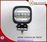 4.5′′ 40W 4000lm Auto LED Driving Light with 6500K, IP68, Rhos Certification