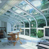 Curved Glass for Curtain Wall and Windows