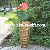Fo-229 Tall Fibre Glass Flower Pot for Home Garden