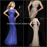 Lace Evening Dresses Sequins Silk Chiffon Pageant Prom Formal Dresses Gowns T21435