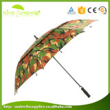High Quality Camouflage Fabric Double Layer Pattern Custom Golf Umbrella