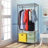 Sturdy Shelving Clothes Wardrobe Garment Rack Home Closet Hanger Storage Organizer