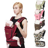 Multi-Functional Adjustable Cotton Toddler Infant Carrier with Hipseat
