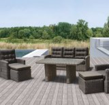 Outdoor Patio Rattan Wicker Stack Garden Outdoor Hotel Home Office Furniture (J471)