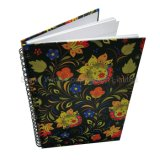 Hardcover Paper Spiral Exercise Notebook, Office Stationery Notepad