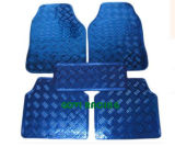 5PCS/Set Blue Car Foot Mats Carpets PVC Skidproof