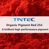 Organic Red Pigment 254 for Plastic (Brilliant High Performance Pigment)