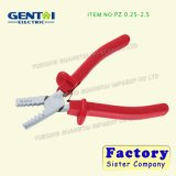 Germany Style Small Crimping Plier for Insulated and Non-Insulated Ferrules