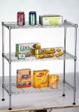 Metal Wire Shelving Display Shelf Kitchen Storage Rack