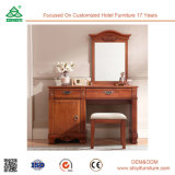 Beauty Make up Dressing Table with Folding Mirror
