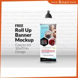 Promotion Portable Advertising Pull up Poster Stand Roll up Banner