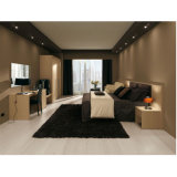 Laminated Board Fashion Type Hotel Bedroom Furniture Queen Size Bed