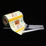 Laminating colorful Printed Plastic Film on Roll for Food Packaging