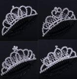 Little Princess Crystal Girls Hair Tiara Crown Hair Combs Hair Jewelry