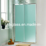 Frosted Shower Glass / Acid Etched Tempered Glass with En12150 and ANSI Certificate