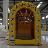 Advertising Money Machine Cube Inflatable Cash Box
