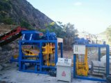 Qt4-25 Concrete Brick Making Machine for Africa, Concrete Plant Solution