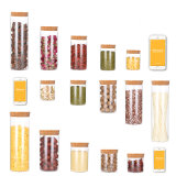 High Quality Glass Bottle for Storage with All Usual Size